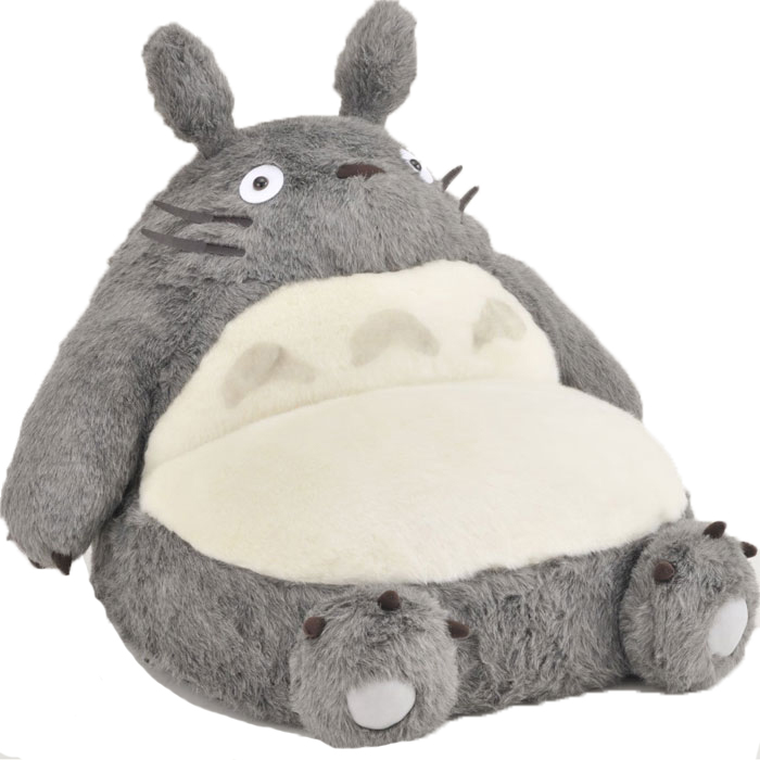 GrenGren  And with sale ☆ Totoro ☆ big Totoro single sofa   座いす   Chair    Ghibli  3b4064305