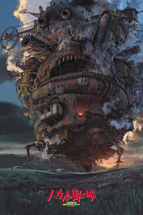 Howl's Moving Castle / 1000 Pieces Jigsaw Puzzle / Studio Ghibli 1000-243