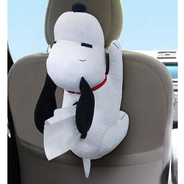 Snoopy Tissue Cover Doll Car Accessories Case