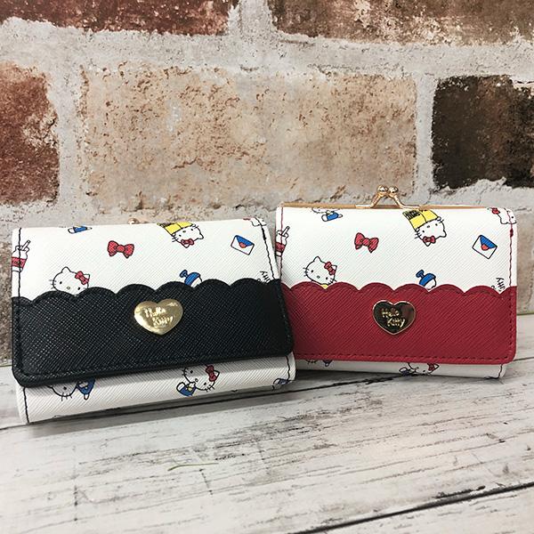 Hello Kitty Mini Wallet Red Aldi HK60-2RD from Japan