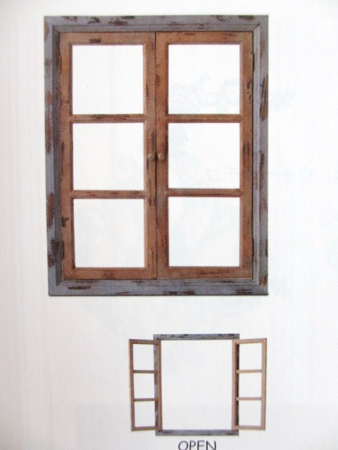 GrenGren: Cheap sale ☆ wood window frame (L) dark blue series no ...
