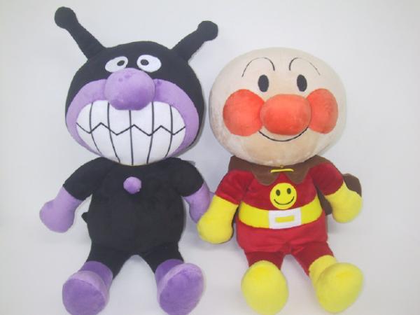 Anpanman / Bikinman / Large Hug me plush dolls/set/Cute Holding