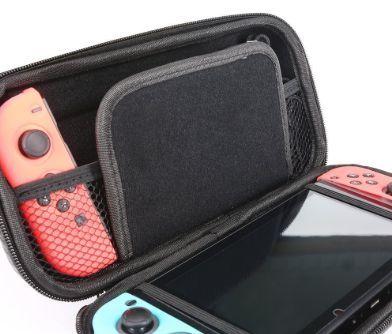 ニンテンドースイッチ ケース バッグ 持ち手付 耐衝撃セミハードケース スイッチ Nintendo Switch スイッチ 任天堂 スイッチケース ニンテンドースイッチ ケース バッグ 持ち手付 耐衝撃セミハードケース スイッチ Nintendo Switch スイッチ 任天堂 スイッチケース