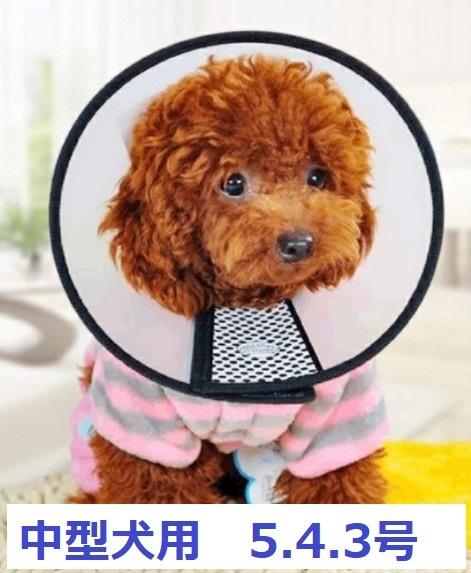エリザベスカラー 半透明 中型犬 大型犬 人気商品 5号 4号 3号 ソフト 大特価!! 手術後 犬 やわらか マジックテープ式 柔らかい 猫 皮膚保護 ペット 軽量