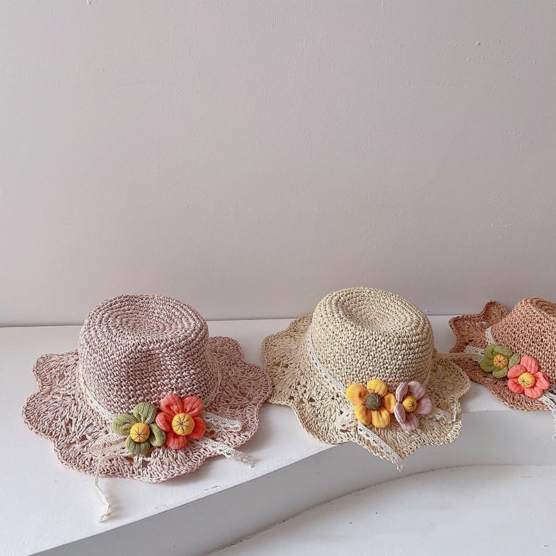 激安セール 500円割引レビュークーポン キッズ帽子 麦わら帽子 子供帽子 J 数量は多 日焼け止めハット T