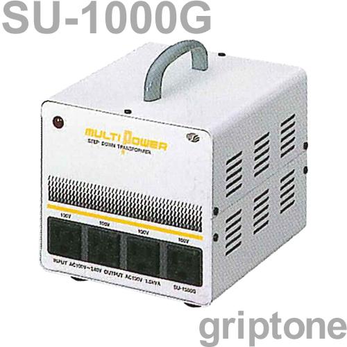 スワロー電機 4口ダウントランス SU-1000G 保証付 AC100・120・200・220・240V⇒降圧⇒100V(合計容量1000W)(og0a046)