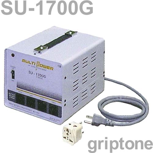 スワロー電機 4口ダウントランス SU-1700G 保証付 AC100・110・120・200・220・230・240V⇒降圧⇒100V(合計容量1700W)(og0a049)