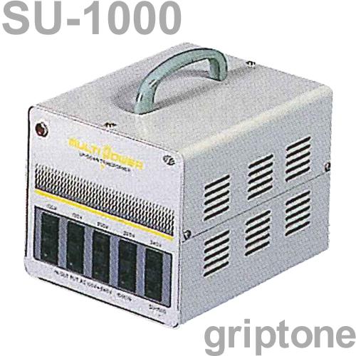 スワロー電機 マルチトランス SU-1000 保証付 AC100・120・200・220・240V⇔昇降圧⇔100・120・200・220・240V(容量1000W)(og0a045)