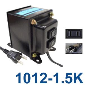 GPTGK1012-1.5K アップトランス 日本製 AC100V⇒昇圧⇒110-120V(容量1500W)(to6a005)