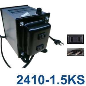GPTGK2410-1.5KS ステップダウントランス 日本製 スイッチ付 AC220-240V⇒降圧⇒100V(容量1000W)(to6a041)【国内不可】