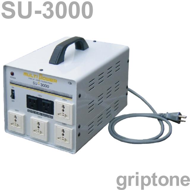 スワロー電機 マルチトランス SU-3000 保証付 AC100・110・120・200・220・230・240V⇔昇降圧⇔100・110・120・200・220・230・240V(容量3000W) (og0a059)