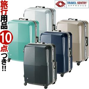 【旅行グッズ4点オマケ】日本製 ACE(エース)ProtecA EQUINOX LIGHT ORE(エキノックスライトオーレ) 66cm 00742 TSAロック搭載 4輪スーツケース フレーム 3年保証付(je2a227)【機内持込袋・旅行3点セットの計4点プレゼント】[C]
