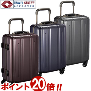 EVERWIN エバウィン Be Narrow ビーナロー 49cm 31237 TSAロック搭載 4輪スーツケース フレーム 機内持ち込み(ya2a025)[C]