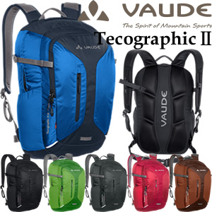 VAUDE(ファウデ) Tecographic2 23(テコグラフィック・ツー23) 12070 バックパック 23L 撥水生地使用(os0a087)【あす楽対応】