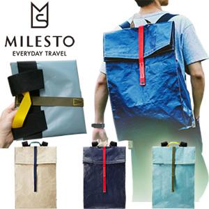 milesto(ミレスト)PEシリーズ バックパック MLS519  折り畳み式大容量リュックサック スクエア型(id0a217)
