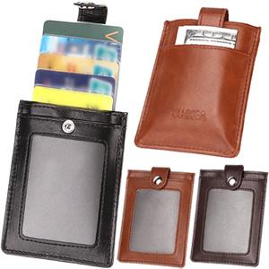 レビュー記入で特典進呈♪ 訳有・激安セール!スキミング犯罪から守る!個人情報保護対策!*カード入れ/カード収納ケース/防犯/スキミング防止機能/スキミング予防対策/旅行用品* GPT スキミング防止 カードホルダー カードケース 本革 クリアスライダー内蔵(RFIDブロック牛革カードケース) ボタン付き 黒・茶 アウトレット 12点迄メール便OK(gu1a467)