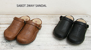 Popular reviews exceeds 200! Sabot style 2WAY Sandals a possible driving comfort sandal / サボサンダル / barefoot / correspondence / ladies for ladies 2P13oct13_b.