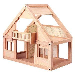 プラントイ 木のおもちゃ PLANTOYS マイファーストドールハウス 家 おままごとに 木製玩具