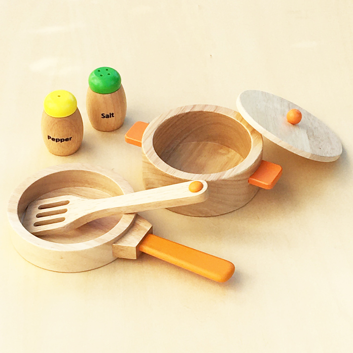 鍋 フライパン 調味料 塩 SALE マーケット コショウ フライ返しのセット 調理用具セット あす楽対応 おままごとセット 木のおもちゃ 木製