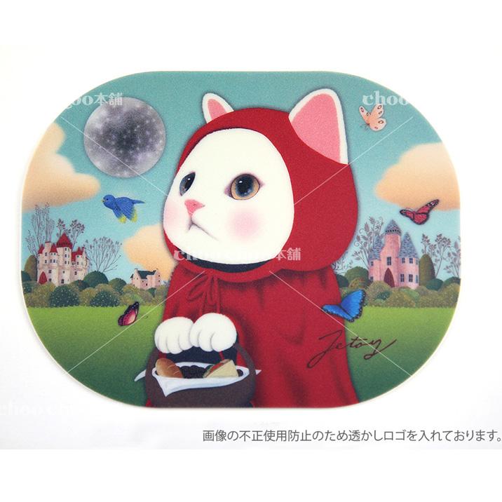 【ネコポスも対応可能です】 チューチュー本舗  jetoy ジェトイ choochoo本舗 チューチュー本舗 猫雑貨 かわいい赤ずきん猫のマウスパッド ネコ【あす楽対応】