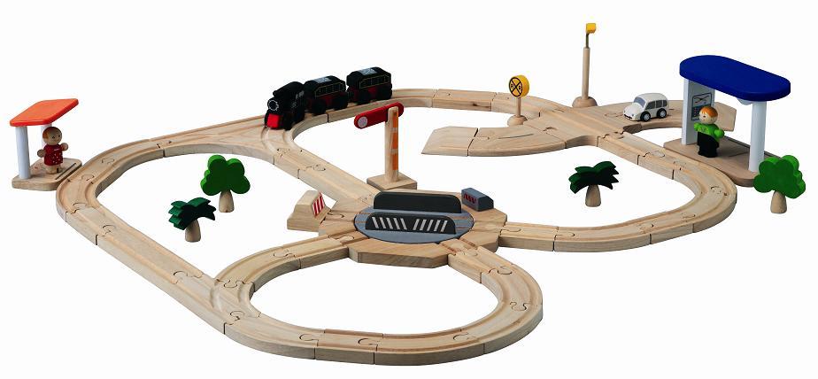 新しい到着 プラントイ 木のおもちゃ PLANTOYS ロード&レールプレイセット 転車台 転車台 プラントイ 木製玩具 木製玩具, トラック用品ルート2:c1c453e3 --- canoncity.azurewebsites.net