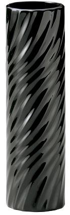 フラワーベース 陶器 波紋 ブラック 黒 花器 シンプル 公式サイト 早割クーポン あす楽対応 花瓶 小