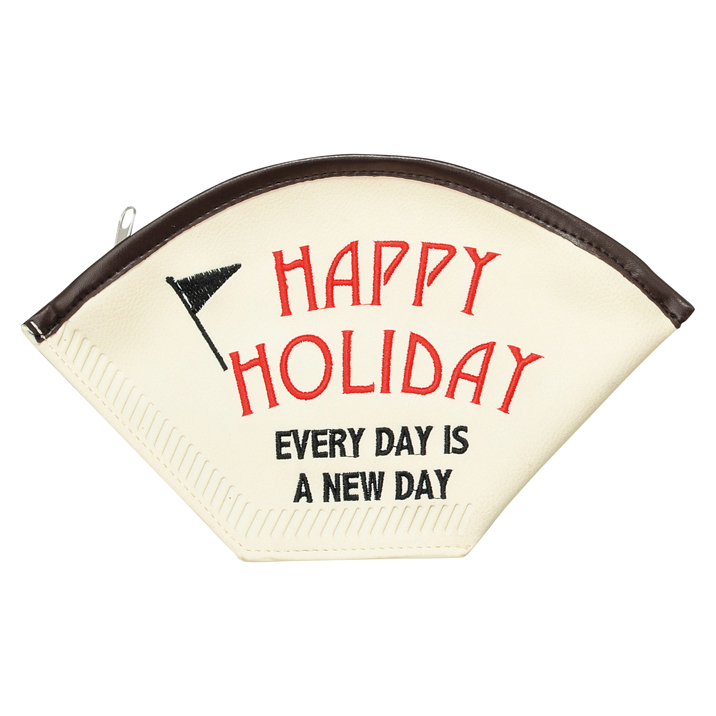 コーヒーフィルターポーチ HAPPY HOLIDAY 全国どこでも送料無料 マルチポーチ 激安通販 雑貨 おしゃれ かわいい