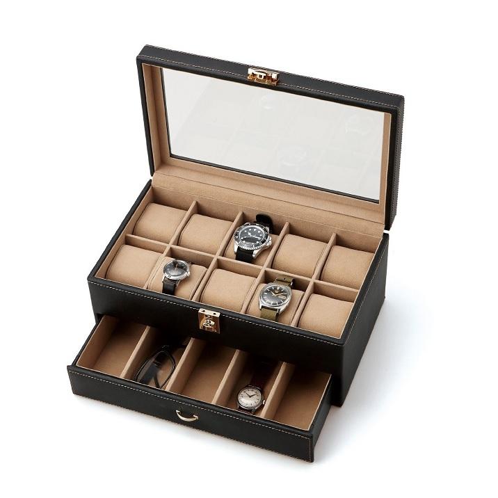ウォッチケース15本用 時計収納 コレクションボックス インテリア