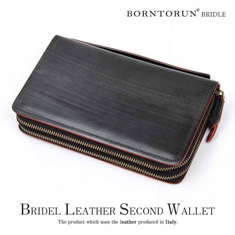 b52dc7326f03 財布メンズダブルファスナーセカンドウォレット財布黒ダブルZIP大容量人気かっこいいおしゃれデザイン