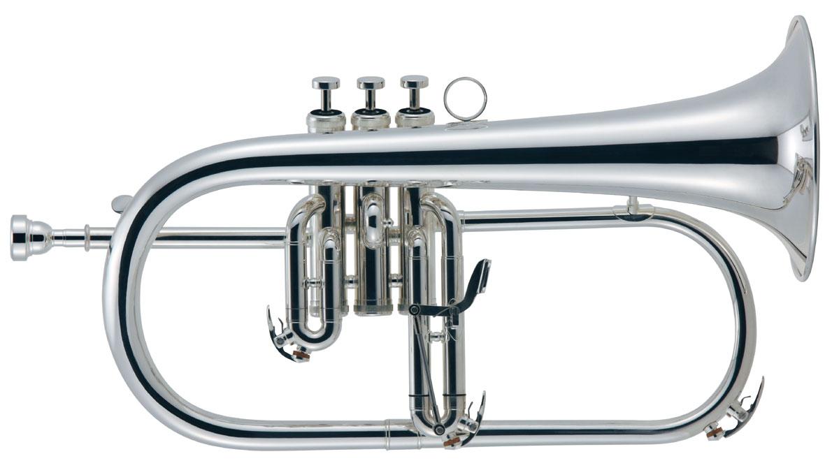 Brasspire unicorn(ブラスパイア) BPFG-850SS Bbフリューゲルホルン 銀メッキ