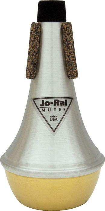 Jo-Ral(ジョーラル) トランペット・ストレートミュート・ブラスボトム TPT1B