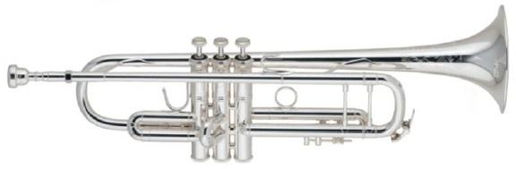 【当店選定品!特価!】V.Bach(バック) ストラディバリウス エルクハート50周年記念モデル トランペット・銀メッキ
