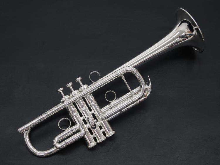 [新商品!] Brasspire unicorn(ブラスパイア) BPTRC-1000S C管トランペット 銀メッキ