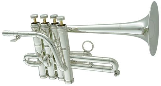 Carol Brass(キャロルブラス) N7775SP ピッコロトランペット 銀メッキ