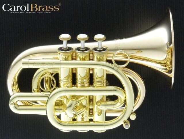 人気が高い CarolBrass(キャロルブラス) ポケットトランペット N3000 GB ゴールドブラス・ラッカー, ルームウェアバレエ コッペリア 36b5ba53