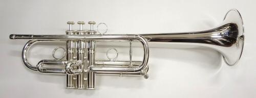 【旧定価特価!】ZORRO(ゾロ) C管トランペット 銀メッキモデル