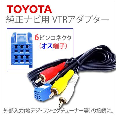 ・丰田纯正导航器VTR适配器秃端子150cm丰田纯正导航器