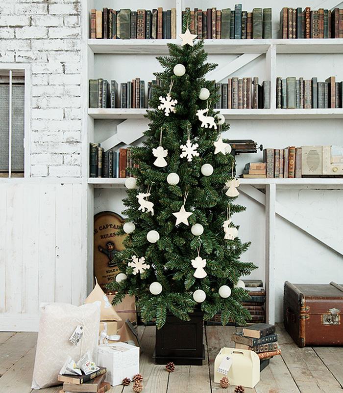 christmas pot tree 150cm wooden ornament christmas tree 150 fashion christmas pot tree nude tree - Christmas Tree In A Pot