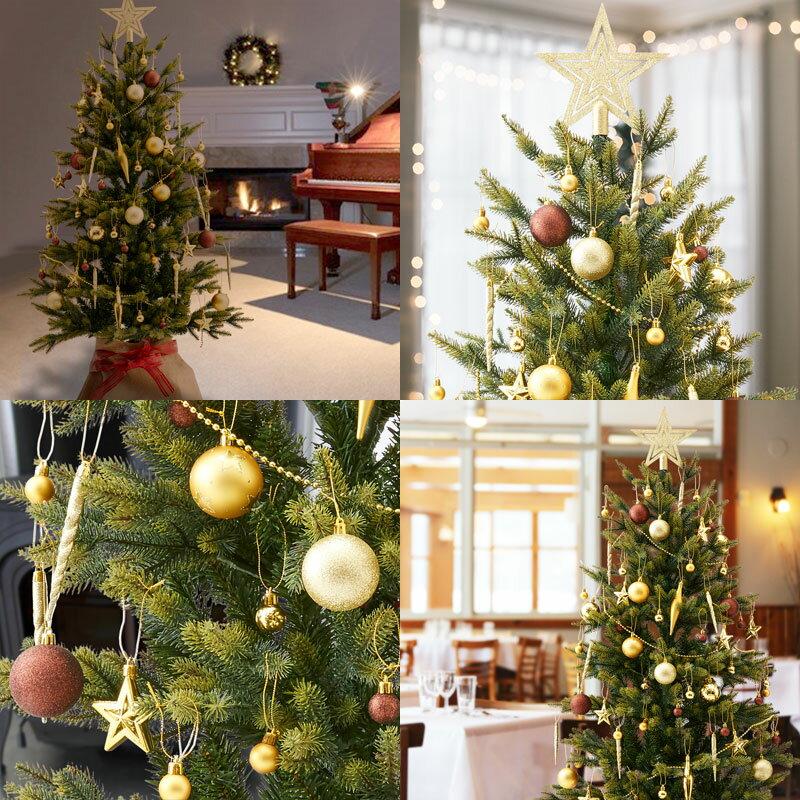 christmas tree ornament set decoration 71p red pink blue gold - Christmas Tree Ornaments Sets
