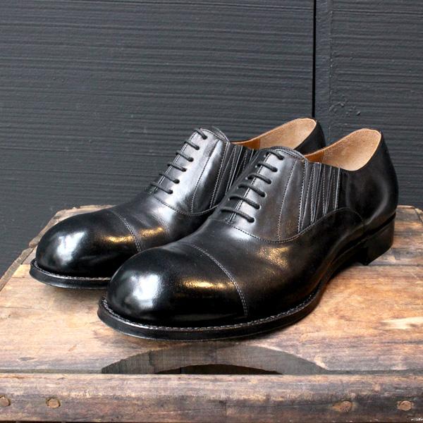 【送料無料】Men'schausserショセC7015短靴ドレスシューズブラックground靴 ポイント5倍