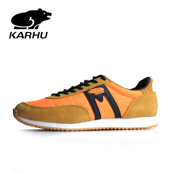 【2018秋冬】KARHUカルフAlbatrossアルバトロスKH802500レディーススニーカーバーントオレンジground靴 ポイント5倍
