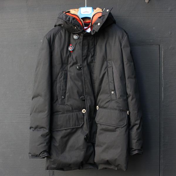 霍卢巴日 / 酒吧 M086 博尔德皮大衣皮大衣羽绒服黑色 hol | 地面 | 洁具