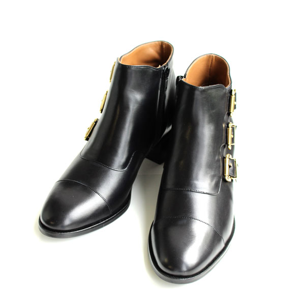 Pertini / Pertini 12199 buckle with Bootie black | ground | shoes |