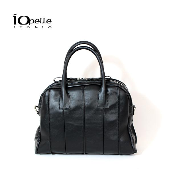 【2018秋冬】IO PELLE/イオペレ 9173/R レザー2WAYハンドバッグ ブラック レザーバッグ|ground|鞄|