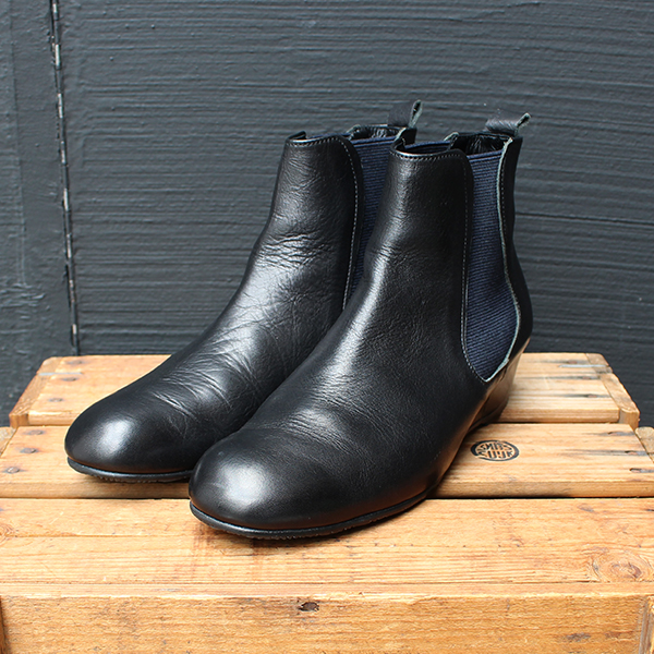 MUKAVAムカヴァMU 990サイドゴアショートブーツブラックブラウンウエッジソールground靴キャッシュレス5%還元対象 レビューキャンペーン実施中PnZN0k8OXw