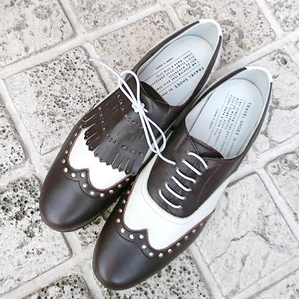 トラベルシューズバイショセTRAVELSHOESbychausserTR-K取外し可能キルトブラックホワイトground靴 未使用品 蔵 レビューキャンペーン実施中