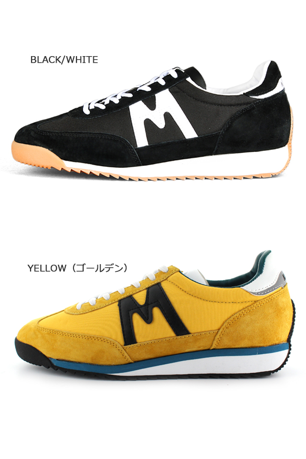 963a7636e9a68 It is targeted for a coupon in KARHU カルフ CHAMPION champion CHAMPIONAIR  KH805 sneakers BLUE ORANGE ブルーオレンジゴールデンイエローブラックホワイトカルフ ...