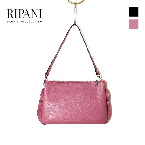2019春夏RIPANIリパーニ8606OJ2Wayレザーハンドバッグショルダーバッグレザーlargeレザーバッグground鞄 ポイント5倍