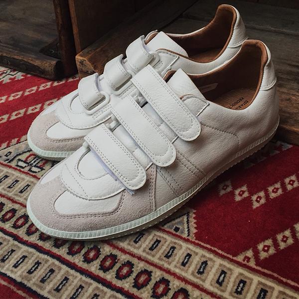 【予約8月頃入荷予定】REPRODUCTIONOFFOUNDリプロダクションオブファウンド1703LD ベルクロメンズレディース ミリタリースニーカーホワイト ground 靴