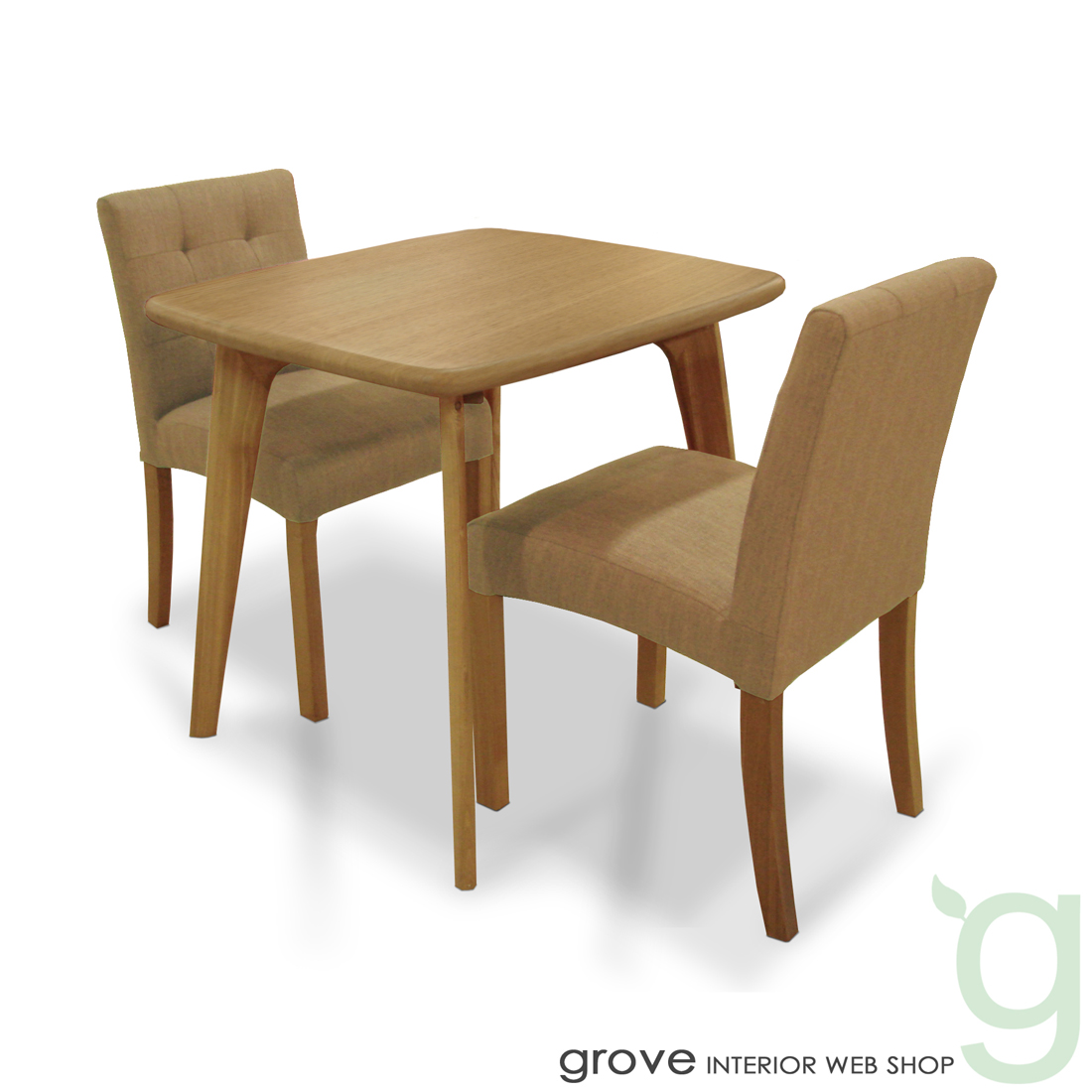 ■CL8 ダイニング3点セット■チェア張り地:ベージュ■テーブル幅80cmタイプ■送料無料■北欧家具 テイスト■北欧 モダン カントリー■木製テーブル 椅子 チェアー■リビングダイニング■食卓セット 食卓椅子 食卓テーブル